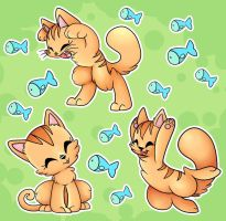 Cats by CutePencilCase