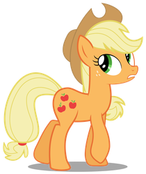 Ponyscape Vector Lesson - Applejack by BlackWolfe-Coyoten