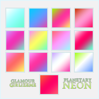 Glamourgirlizeme Gradients- Planetary Neon by Glamourgirlizeme