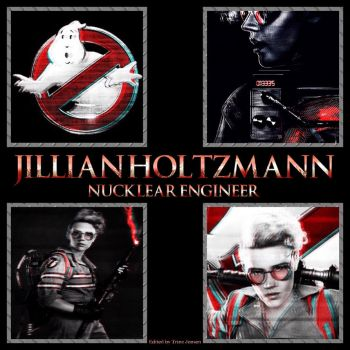 Jillian Holtzmann - Nucklear engineer by Holtzy1977