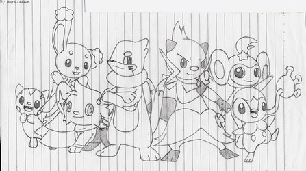 Pokemon in my Imagination by BuizelCream