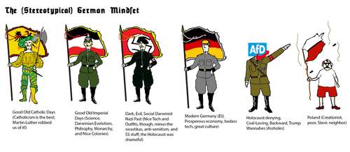 The Stereotypical German Mindset by GeneralHelghast