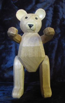 Wooden Bear.1 by Mind-Matter