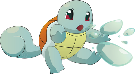 Squirtle Bubble by OukokuDesign