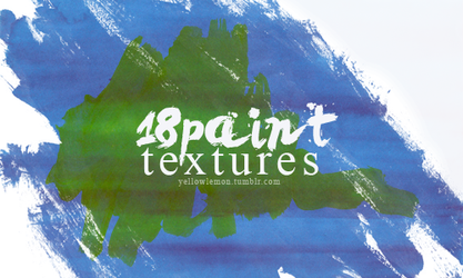 18 paint textures by mrs-padfoot