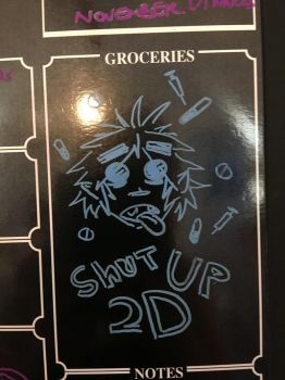 Shut up 2d by Figolossis