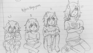 Kylen Age Progression by Ayatonic