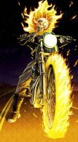 Ghost rider by KaRzA-76