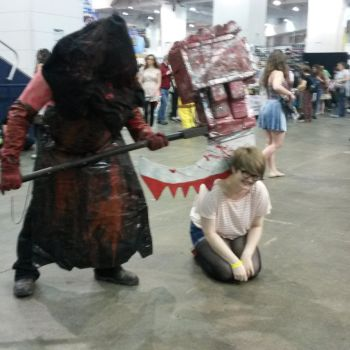 Hyper Japan with The Executioner by T-VirusLover