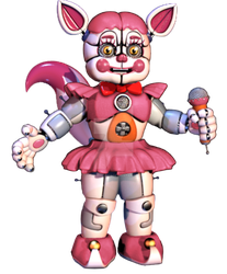 Funtime Foxy SWAP Baby by Urielitocee12