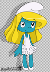 The Smurfette by angell0o0