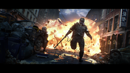 Tom Clancy's The Division cinematic by MathiasZamecki