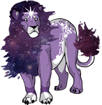 Space Lion //Gif by alaskass