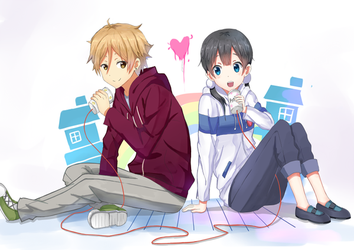 Tamako love story by Kenkaizar