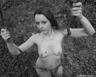 nude in woods 9 by deadheadphotography