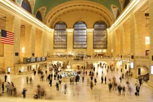 Grand Central Rush by wafitz