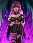 Celica Witch Corruption by MKRUdesign