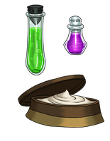 Strange Brew: Potions by ProdigyDuck