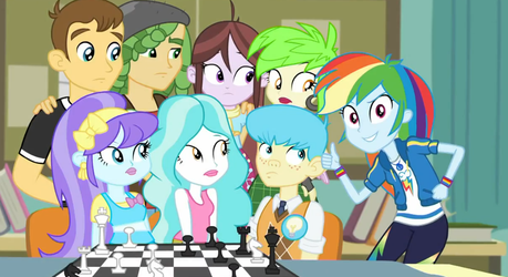 MLP Equestria Girls Queen of Clubs  Moments 3 by Wakko2010