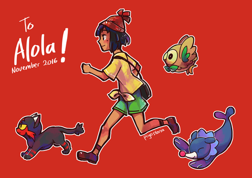 To Alola! by piyostoria