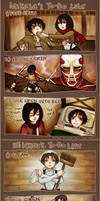 SnK: To-do Lists by gomimushi