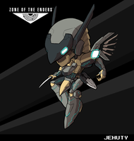 Jehuty (Zone of the Enders) by fryguy64