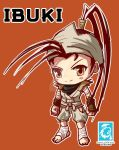 Street Fighter - Chibi Ibuki [Maplestory Style]