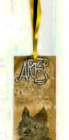 Ares Bookmark by Goldsturm