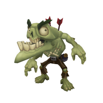 Low Poly Zombie Snapper by bitgem