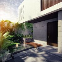 RESIDENCIA INTIMA ext by ARCHIEXELENT