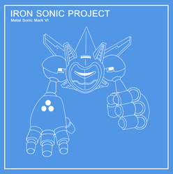 Metal Sonic Mark VI : The Iron Sonic by funkyjeremi
