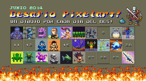 Desafio pixelart Junio 2014 by Christian223