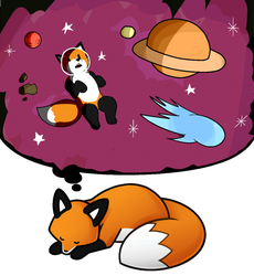 StupidFox Dreams Contest [Entry] by SpeechlessEditor