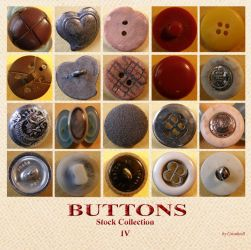 Buttons 10 Collection 4 by Gwathiell