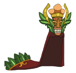 Tribal Tiki Cape by teamlpsandacnl