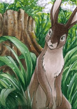 Blackberry - Watership Down - ATC by Merinid-DE