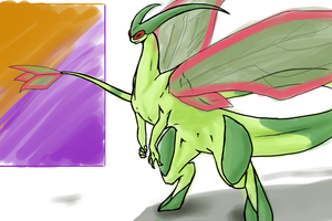Flygon by SpottedAlienMonster