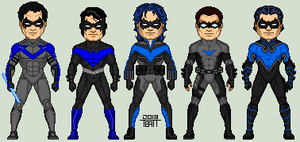 Nightwing Redesigns by EverydayBattman