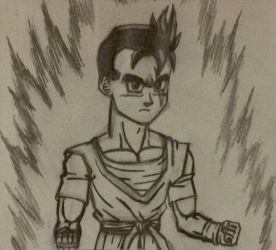 May 8th, Gohan Day: Ultimate Future Gohan by TempestVortex