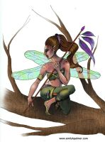 Warrior Fairy by Lady-Xella