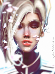 Mercy Fanart by mgahn