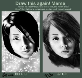 Draw this again-Meme by Nisayon