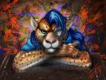 Anthropomorphic Jaguar by nubilum93