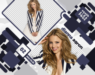 Png Pack 3610  - Dianna Agron by southsidepngs