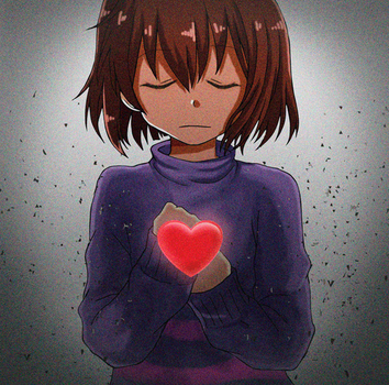You're filled with DETERMINATION (Animated Gif) by ximsol182