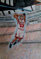 Michael Jordan Tribute by ANDREAMARINO93