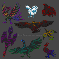 Crystal Core Currier Bird First Color Concepts by LordDonovan