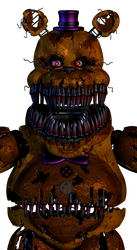 EndyArts Fredbear except I tweaked the mats a bit by AndyDatRaginPurro