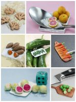 Daily Miniature Veggies Challenge by PetitPlat