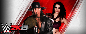 Custom WWE 2K15 Undertaker And Paige Signature by ThexRealxBanks